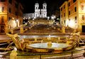 Piazza Di Spagna And Spanish Steps, Rome, Italy Royalty Free Stock Image - 30950926