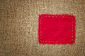 Burlap With Patch Stock Images - 30954814