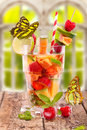 Fresh Fruit Drink In Summer Royalty Free Stock Image - 30958396