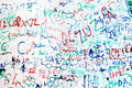 Graffiti Wall Stock Image - 30962021