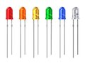 Set Of Color LEDs Stock Image - 30974961