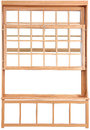 Wood Double Hung Windows. Double-hung Window Parts. Stock Photo - 30981260