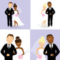 Wedding Couples 4 Stock Photo - 30981270