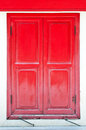The Red Window Stock Photos - 30997813