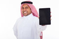 Arabic Man Tablet Royalty Free Stock Photography - 31003657