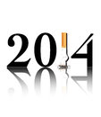 Quit Smoking 2014 Royalty Free Stock Images - 31004759
