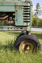 Old Tractor In Field Stock Image - 31006061
