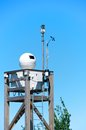 Surveillance System Cameras On A Tower, Italy Stock Photography - 31007222
