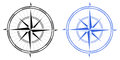 Compass Rose Stock Image - 31025771
