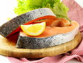 Fresh Raw Red Fish (salmon) Royalty Free Stock Images - 31039919