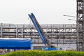 Truck Crane Standing On A Construction Site Under Construction Stock Photo - 31049180