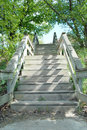 Wooden Stairs Stock Image - 31049811