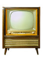 Vintage Television Stock Photos - 31059653