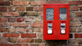 Red Gumbal, Chewing Gum Machine Royalty Free Stock Photo - 31060805