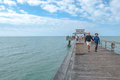 People At The Naples Pier Royalty Free Stock Photography - 31072547