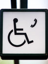 Phone For Wheelchair Users (1) Royalty Free Stock Photo - 31075305