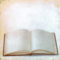 Blank Sheets Of Old Books For Records On Vintage Background Royalty Free Stock Photos - 31077238