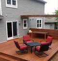 Backyard Deck Royalty Free Stock Images - 31080939
