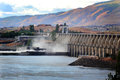 The Dalles Dam Hydro Power Royalty Free Stock Images - 31092389