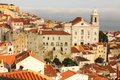 View Over Alfama Quarter. Lisbon . Portugal Stock Photography - 31106652