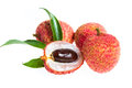 Isolated Fresh Lychees Fruit Royalty Free Stock Photography - 31108187
