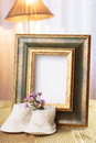 Welcome Baby Gift Frame Stock Photography - 31122082