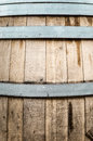 Detail Of Wooden Barrel With Metal Hoops. Stock Photo - 31122380