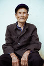 Chinese Old Man Royalty Free Stock Photo - 31139495