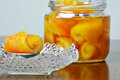 Preserved Oranges Royalty Free Stock Image - 31140966