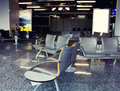 Empty Airport Waiting Area Stock Photography - 31158442