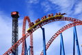 Roller Coaster Speed Royalty Free Stock Photography - 31166227