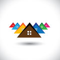 House (home), Residential Locality Of A Town Or City Stock Photos - 31180113