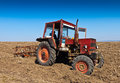 Red Tractor Stock Images - 31203624