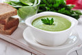 Spinach Soup Stock Image - 31212981