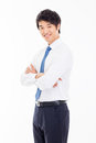 Asian Young Business Man Royalty Free Stock Photography - 31221037