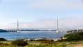 Longest Cable-stayed Bridge In The World In The Russian Vladivos Royalty Free Stock Images - 31222379
