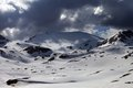 Snowy Mountains Before Storm Stock Images - 31228114