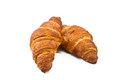 Croissant Over White Background Royalty Free Stock Image - 31231896