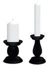 Black Candlesticks Royalty Free Stock Photography - 31242927