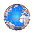 The Earth Is Imprisoned Stock Images - 31249594