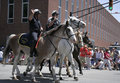 Indianapolis Mounted Police Greets Race Fans During 500 Festival Parade Stock Images - 31256334
