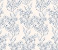 Forget-me-not Pattern 1 Royalty Free Stock Image - 31257406