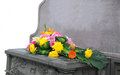Gravestone And Flower Royalty Free Stock Images - 31260609