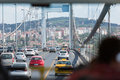 View From Car On Ataturk Bridge Royalty Free Stock Photos - 31268178