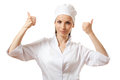Doctor Showing Thumbs Up Gesture, Isolated Stock Photos - 31269553