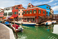 Lovely, Colorful View Of Burano Stock Images - 31297124