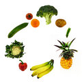 Fruit And Vegetables Stock Photos - 3130113