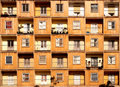 Windows And Balconies Royalty Free Stock Photos - 3131738