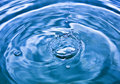 Falling Drop Of Water Stock Photography - 3132412