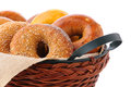 Bagels In Basket Royalty Free Stock Images - 31312659